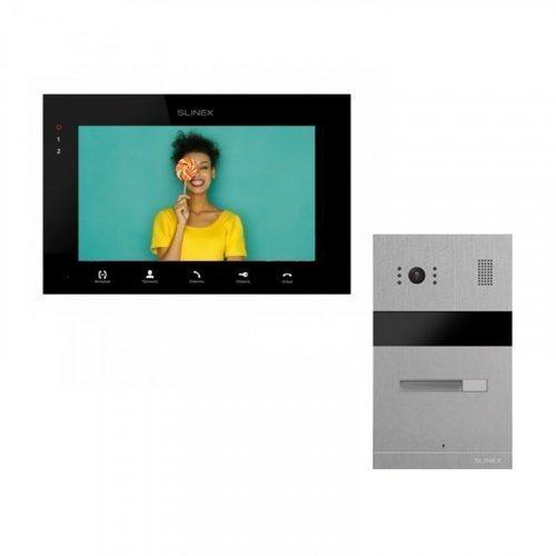 Комплект домофона Slinex SQ-07MTHD Black и Slinex MA-01