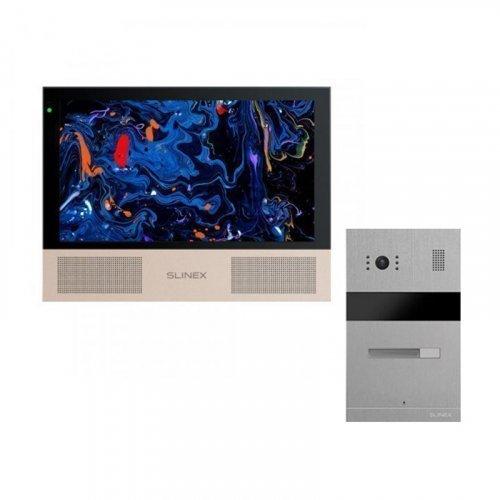 Комплект домофона Slinex Sonik 10 Black и Slinex MA-01