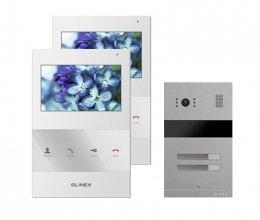 Комплект домофона Slinex SQ-04 White и Slinex MA-02