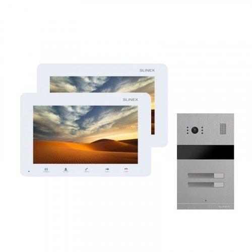 Комплект домофона Slinex SM-07MN White и Slinex MA-02