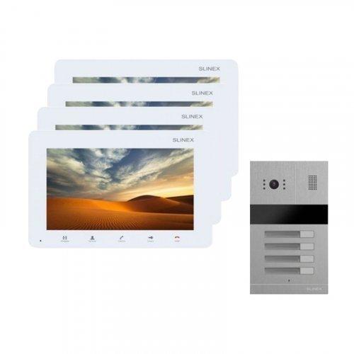 Комплект домофона Slinex SM-07MN White и Slinex MA-04