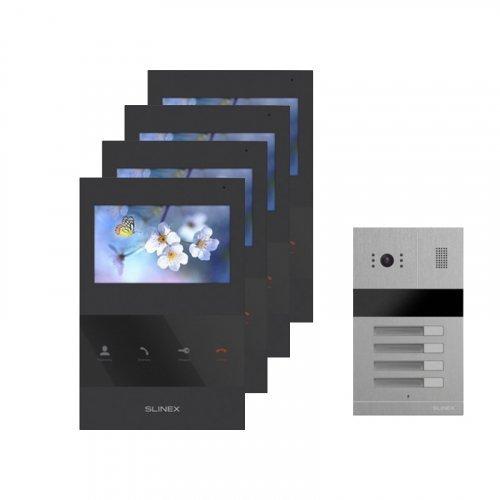 Комплект домофона Slinex SQ-04 Black и Slinex MA-04