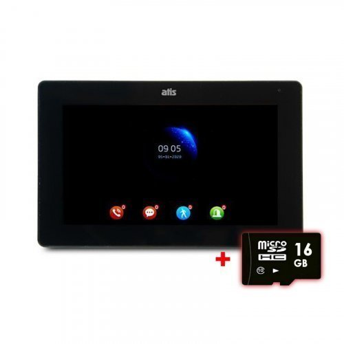 Видеодомофон ATIS AD-770FHD/T-Black