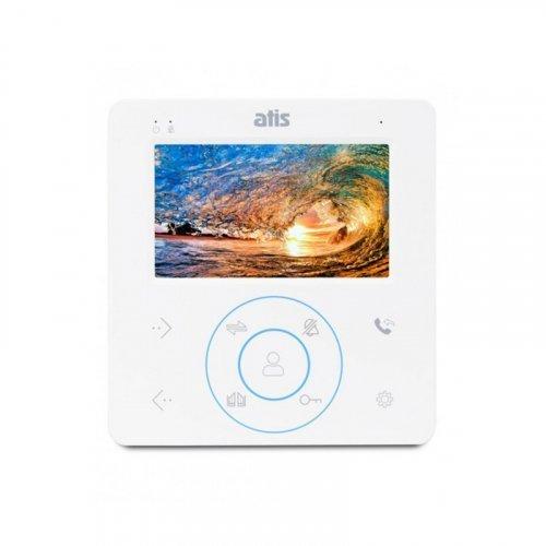 Аналоговый видеодомофон с сенсорными кнопками ATIS AD-480 W