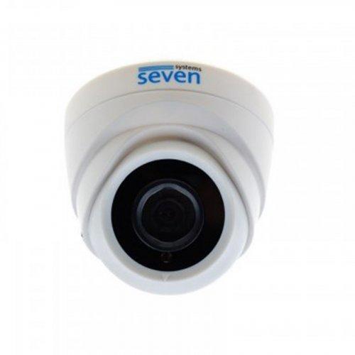 MHD видеокамера 2 Мп внутренняя SEVEN MH-7612E (3,6 мм)