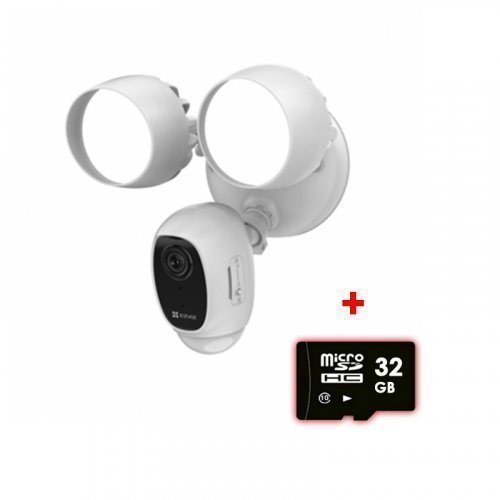 Уличная Wi-Fi IP камера с активной сиреной 2Мп EZVIZ CS-LC1C-A0-1F2WPFRL (2.8 мм)