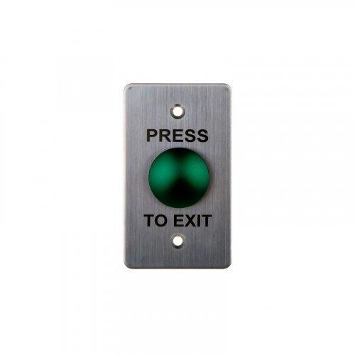 Кнопка выхода металлическая врезная SEVEN K-7496G