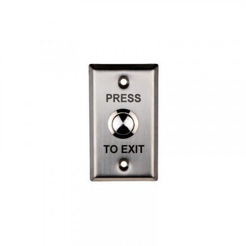 Кнопка выхода металлическая врезная SEVEN K-7495