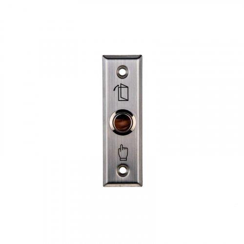 Кнопка выхода металлическая врезная SEVEN K-785
