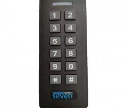 Контроллер + считыватель с кодовой клавиатурой SEVEN CR-7467b EM-Marin