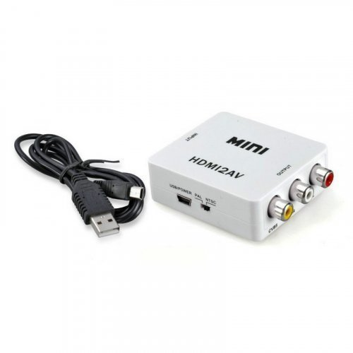 Конвертер ATIS mini HDMI-AV