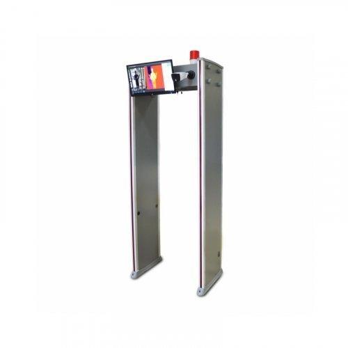 Арочный металлодетектор с измерением температуры ZKTeco ZK-D2180S[TI]