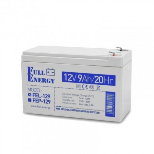 Full Energy FEL-129 12В 9 Ач для ИБП