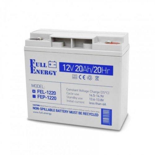 Full Energy FEL-1220 12В 20 Ач для ИБП