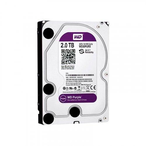 Жесткий диск HDD Western Digital Purple 2TB 64MB WD20PURZ 3.5 SATA III