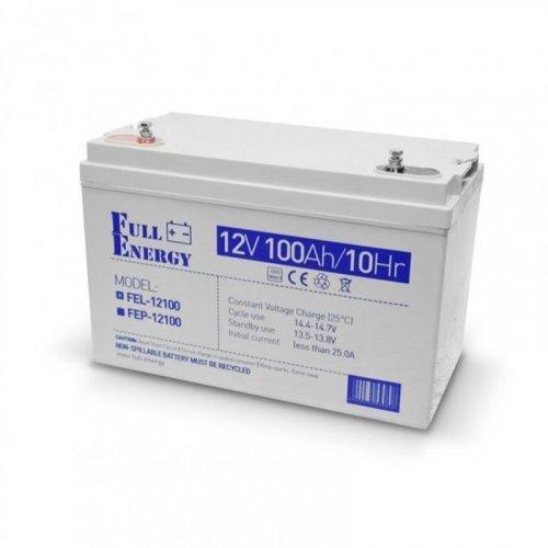 Full Energy FEL-12100 12В 100 Ач для ИБП