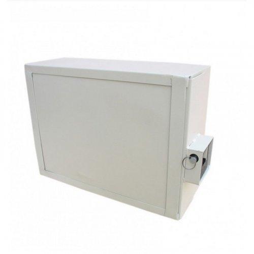Антивандальный оптобокс VAGOS 400 x 300 x 150 мм с крабовым замком