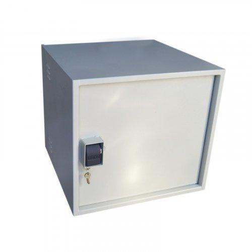 Шкаф VAGOS Super AntiLom 12U-1.5 600 х 550 х 600 мм с крабовым замком