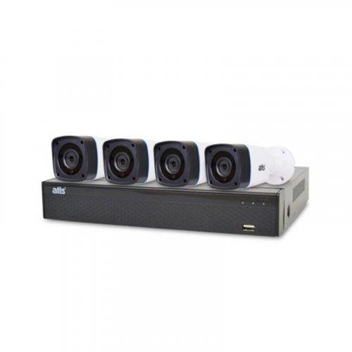 AHD комплект видеонаблюдения ATIS kit 4ext 5MP