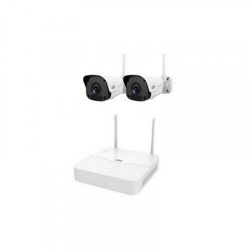 Комплект видеонаблюдения IP Uniview KIT/NVR301-04LB-W/2*2122SR3-F40W-D