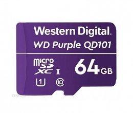 Карта памяти Western Digital MEMORY MICRO SDXC QD101 64GB UHS-I WDD064G1P0C WDC