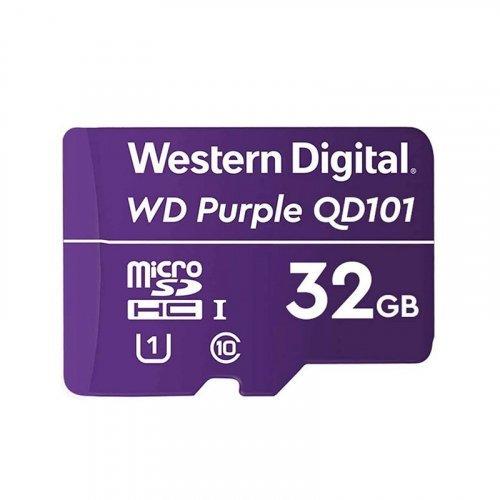 Карта памяти Western Digital MEMORY MICRO SDXC QD101 32GB UHS-I WDD032G1P0C WDC