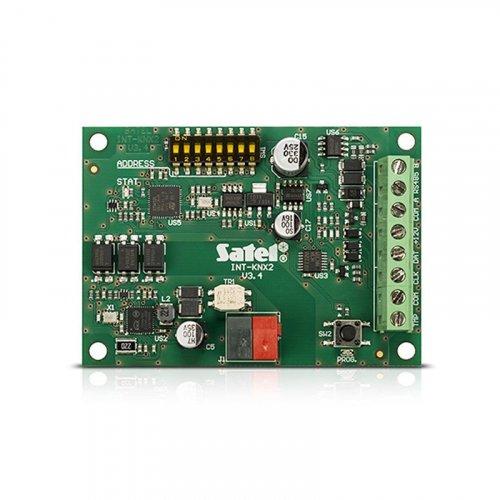 Модуль интеграции Satel INT-KNX-2 ППК INTEGRA с KNX