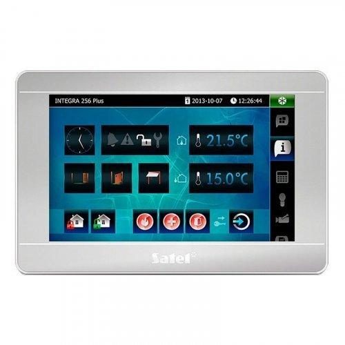 Клавиатура с сенсорным дисплеем Satel INT-TSI-SSW