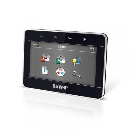 Клавиатура с сенсорным дисплеем Satel INT-TSG-BSB