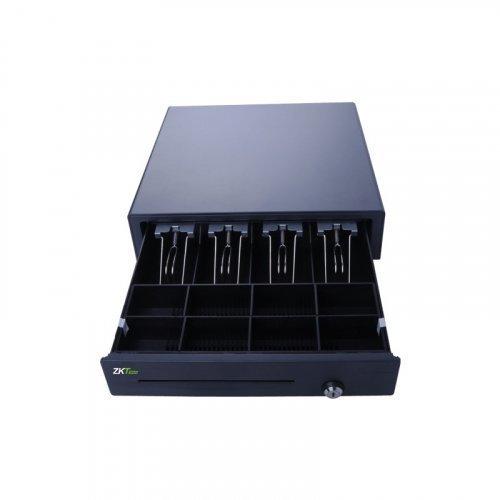 Денежный ящик ZKTeco ZKC0408, 4 отсека для купюр, 8 для монет и 1 для чеков