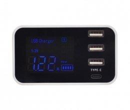 Зарядное устройство Trinix USB YC-CDA30 на 4 порта