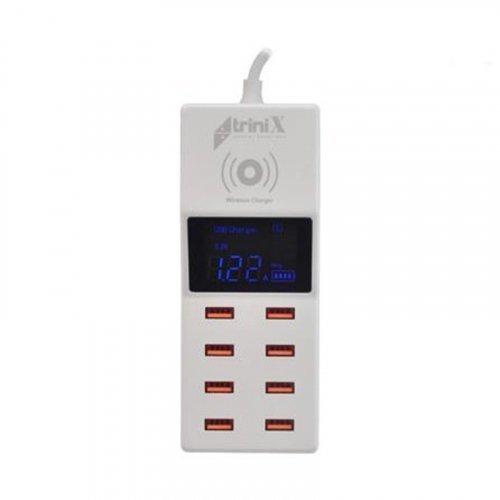 Зарядное устройство Trinix USB YC-CDA6W на 8 портов