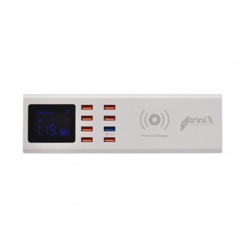 Зарядное устройство Trinix USB YC-CDA23WQ на 8 портов