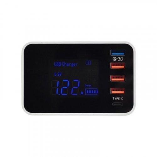 Зарядное устройство Trinix USB YC-CDA33WQ на 5 портов