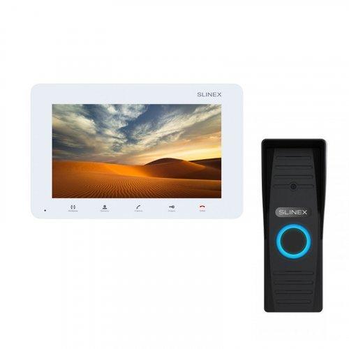 Комплект домофона Slinex SM-07MN White и Slinex ML-15HD Black