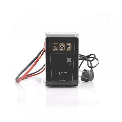 ИБП с правильной синусоидой RITAR RTSW-500 LED (300Вт)