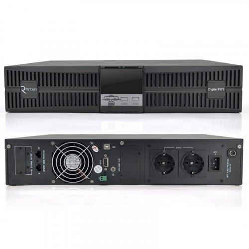 ИБП On-Line INVT HR1101S 1KVA/0.9kW RACK 36В