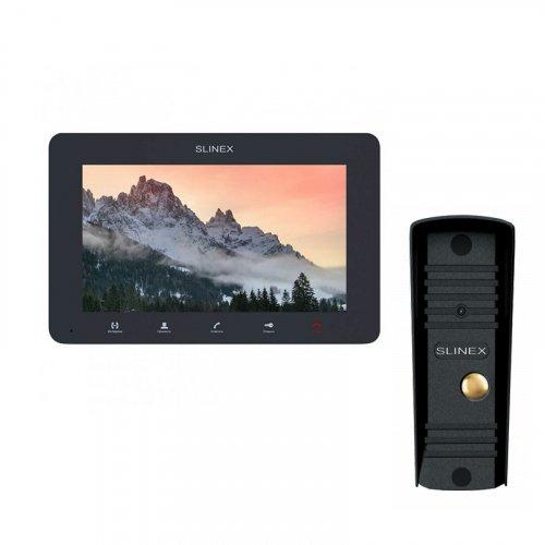 Комплект домофона Slinex SM-07MHD Graphite и Slinex ML-16HD Black