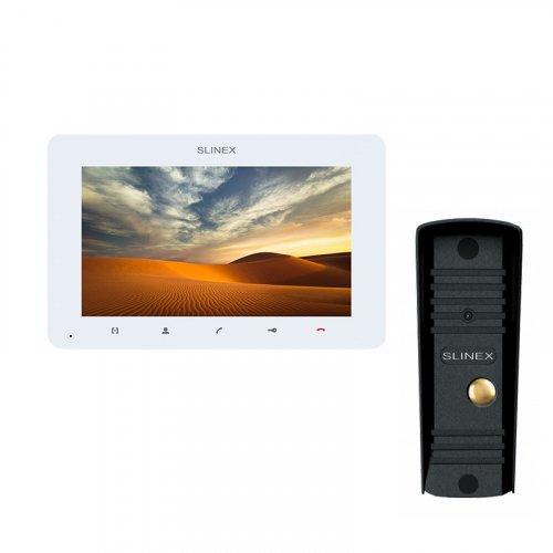 Комплект домофона Slinex SM-07MHD White и Slinex ML-16HD Black