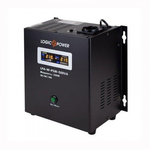 ИБП Logic Power с правильной синусоидой 12V LPA-W-PSW-500VA+(350Вт)5A/10A