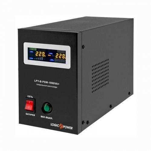 ИБП Logic Power с правильной синусоидой 12V LPY-B-PSW-1000VA+(700Вт) 10A/20A