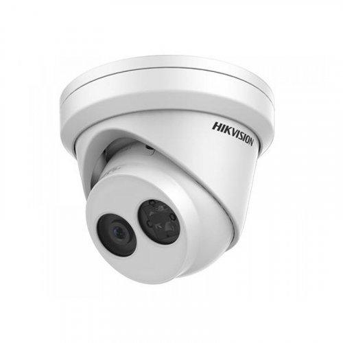 Купольная IP Камера с микрофоном 8Мп Hikvision DS-2CD2383G2-IU (2.8 мм)