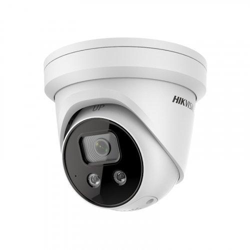 Купольная IP Камера с микрофоном 8Мп Hikvision DS-2CD2386G2-IU (2.8 мм)