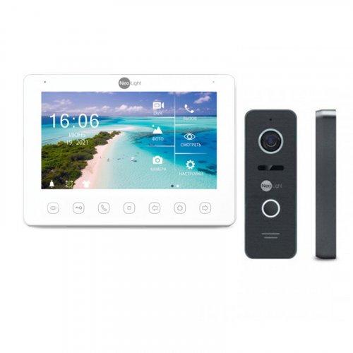 Комплект домофона NeoLight OMEGA+ HD WF2 и Prime FHD (Pro) Black