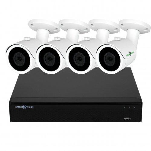 AHD комплект видеонаблюдения GreenVision GV-K-S13/04 1080P