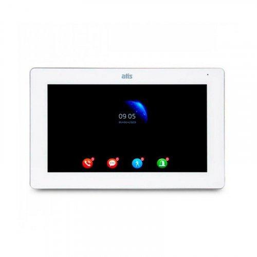 "Wi-Fi видеодомофон 10"" ATIS AD-1070FHD/T-White с поддержкой Tuya Smart"