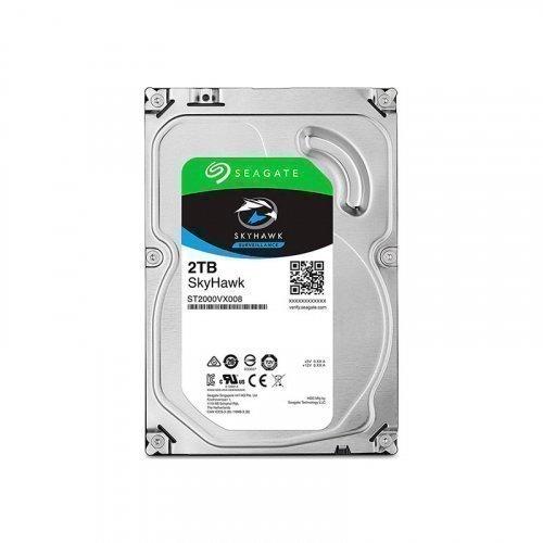 """Жесткий диск HDD 3.5"""" Seagate SkyHawk HDD 2TB 64MB SATA III"""