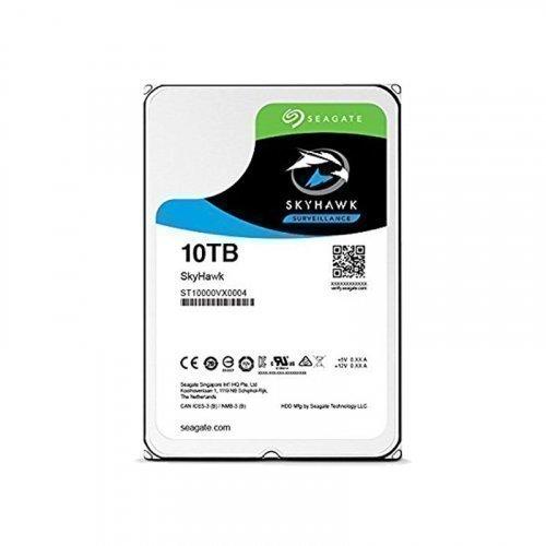 """Жесткий диск HDD 3.5"""" Seagate SkyHawk HDD 10TB 256MB SATA III"""