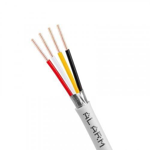 Сигнальный кабель, экранированный 4/0,22мм (1м)