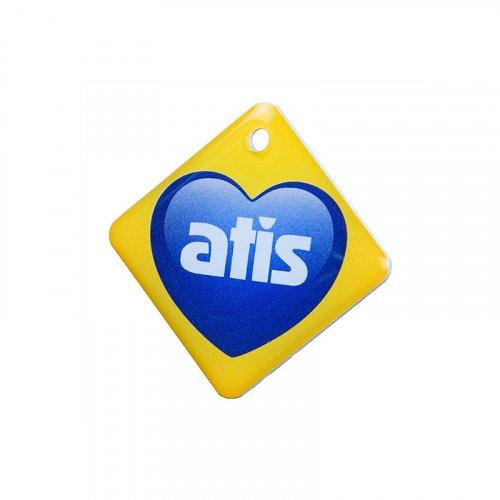Карта доступа и брелок Atis RFID KEYFOB EM RW Heart